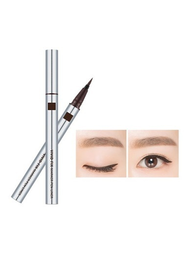 Missha Vivid Fix Marker Pen Liner (Deep Brown) Kahve